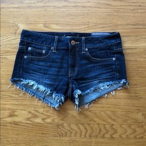 NWT American Eagle Frayed Jean Shorts!